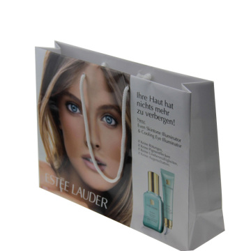 Sac à provisions en papier pour emballage cosmétique