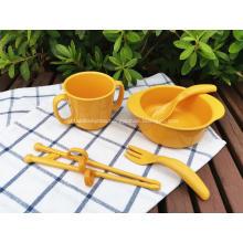 Bio Children's tableware Bowl Cup Fork Chopsticks Spoon