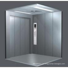 Elevador de carga (abertura central de quatro painéis)