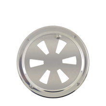 Genuine marine butterfly Vent with Center Knob, stainless butterfly vent for ship kayak