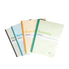 Impressão customizável barata do caderno do exercício do caderno dos artigos de papelaria