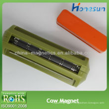 d35x100mm cor do ferrite vaca ímã verde