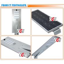 Iluminação de rua solar integrada impermeável do diodo emissor de luz do poder superior 80W