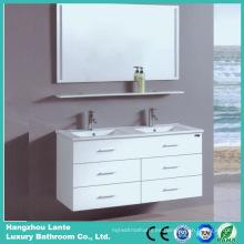 Gabinete de baño blanco del color de Desgin de la manera (LT-C057)