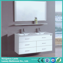 Fashion Desgin White Color Bathroom Cabinet (LT-C057)
