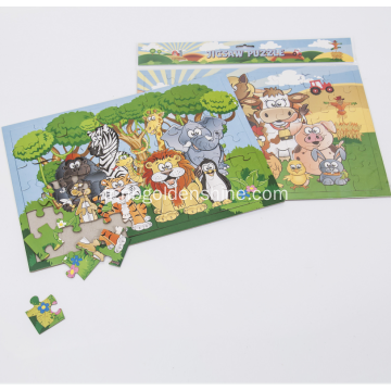 Jigsaw Animal Puzzle Animal