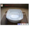 wholesale square ceramic bowl white porcelain bowl set