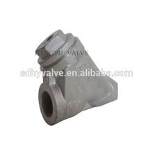 filtro de tipo de y ferro dúctil/ferro fundido com flange termina zincado