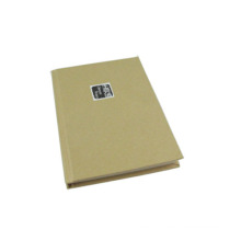 Kraft Cover Hardcover Notebook (A5-80)