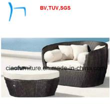 F-Fashion Patio Furniture Rattan Sofa Set (FC004+F0002)