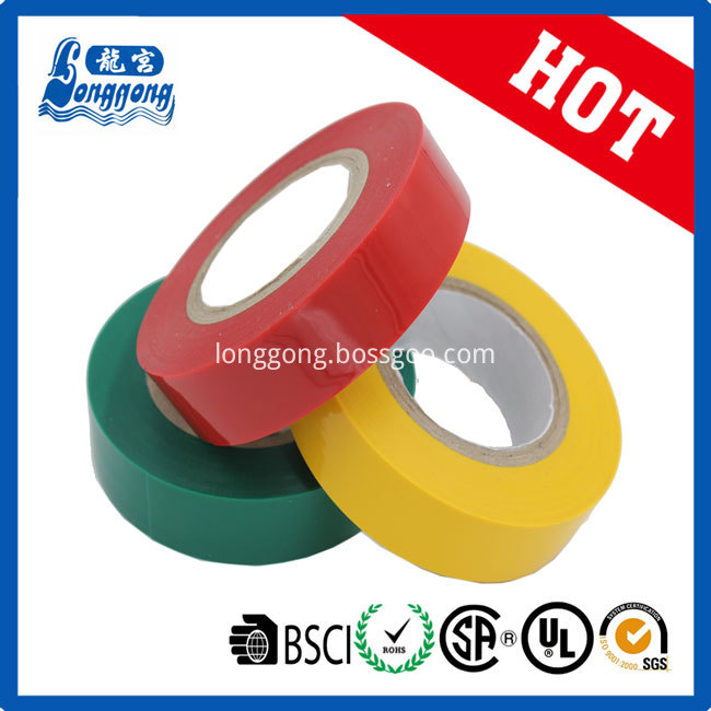 Best quality Shiny PVC Insulation Tape