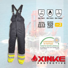 Vêtements de travail ignifuges de 100% coton pour l'uniforme de l'industrie