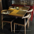 Customize Solid Wood Restaurant Furniture Set (SP-CS339)