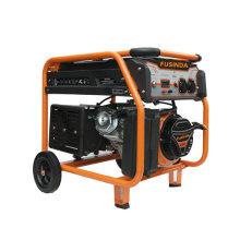 Uso doméstico 5kw portátil pequeno gasolina / gerador de energia de gasolina Fe6500e