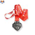 Kundenspezifische Metallfahrrad-Finsher-Medaille