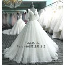 Cheap marfim vestido de noiva vestidos de noiva