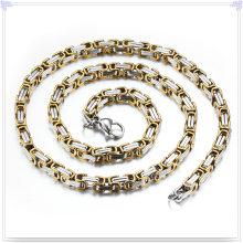 Moda jóias colar de moda corrente de aço inoxidável (sh061)