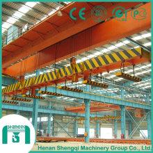 Grúa de elevación magnética de arriba de la viga doble de la fábrica de acero 2016