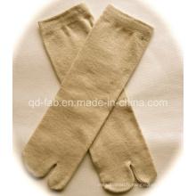 Chaussettes en chanvre / coton biologique à deux boutons pour le Japon