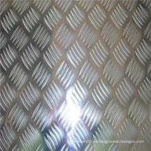 1100, 3003, 5052 Aluminum Checker Plate Precio