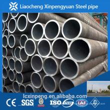 Fabricação e exportador de alta precisão sch40 tubos de aço carbono sem costura laminados a quente