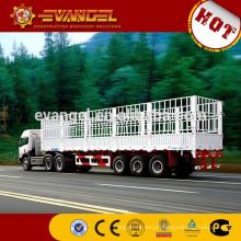 Reboque hidráulico da descarga do reboque 20TV de aço inoxidável do tanque