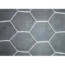Malha de arame hexagonal-galvanizado ou revestido de PVC
