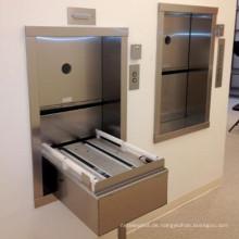 250 kg Kleine Wohn-Indoor-Essen Preis Dumbwaiter Lift