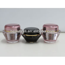 UFO Shape Acrylic Cream Cosmetics Jar 15ml 30ml 50ml
