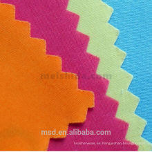 Tela del ante del estiramiento del algodón de 120days LC