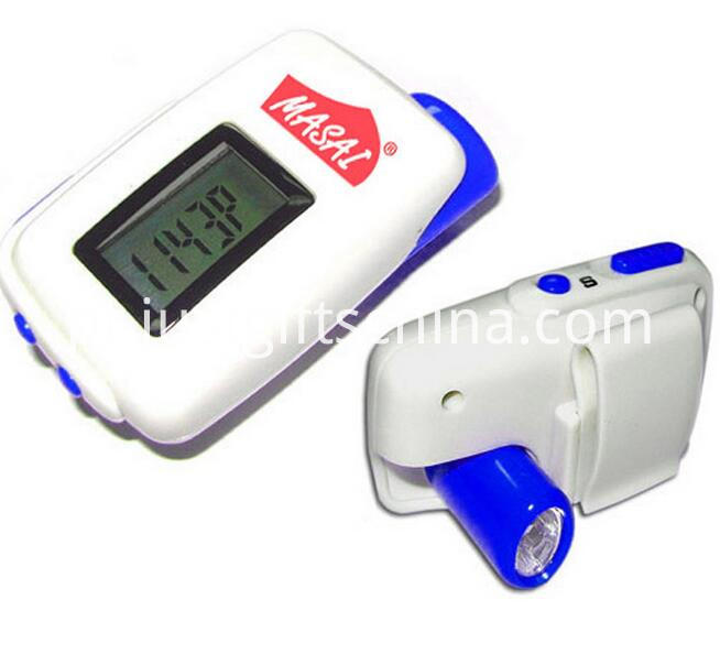 Promotional LED Pedometer