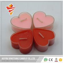 Natürliche Farbe Teelicht Nachtlichter Kerzen