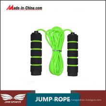 Salto de corda de salto plástico Ginásio Fitness treino