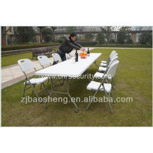 Folding tables for outdoor picnic