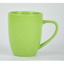 Hot sale custom colorful handle travel tea ceramic mug set