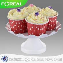 Revestimento em pó 4PCS Metal Cupcake Stand