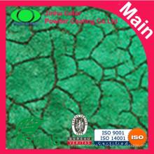 Le fabricant de peinture en poudre à la peau de crocodile hautement décoratif
