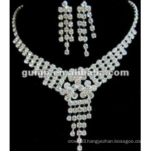 Latest bridal wedding jewelry set (GWJ12-457)