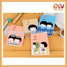Caderno criativo com características chinesas, papelaria escolar barata