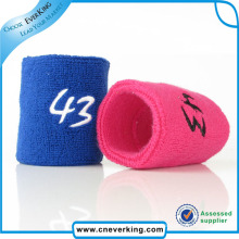 New Arrival Custom Embroidered Wristbands Promotion Gift
