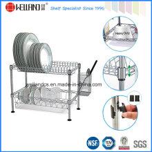 Fábrica de patente de aço Dish Drainer Rack-Diferentes Design estão disponíveis