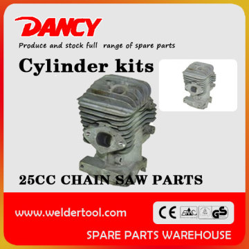 25cc chainsaw parts OEM cylinder kits