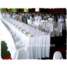Couverture de chaise de banquet standard, CT035 polyester matière, durable et facile lavable
