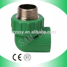 Plastic PPR Male Elbow Fittings ppr weld plumbing elbow