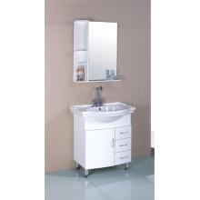 70 см ПВХ Белый шкаф ванной комнаты (B-516)