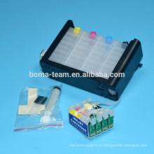 Патрон чернил принтера СНПЧ для Epson T1971 T1962-T1964 системы СНПЧ