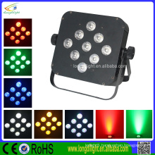 9*10W 5 IN 1 rgbwa led battery operated flat par light