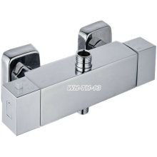Square Brass Thermostatic Shower Faucet