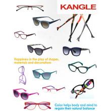 2017 élégant Lady design acétate cadres et lunettes lunettes