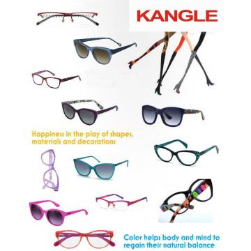 2017 элегантная дама дизайн ацетат кадров и очки очки